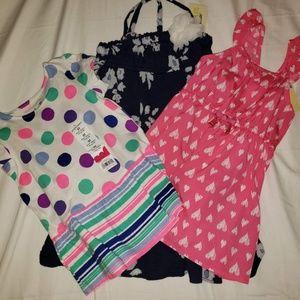 3 girls summer dresses